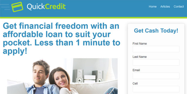 Quick Credit Loans